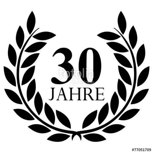 30-jähriges Firmenjubiläum